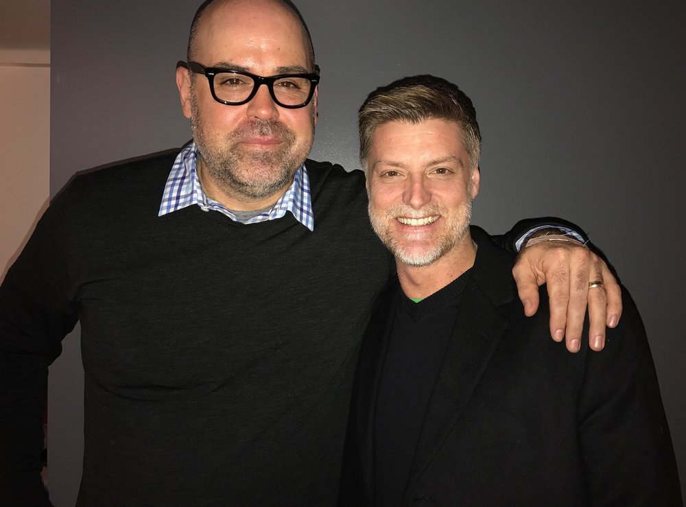 Chris Ronan and Sean Allan Krill @ The Library in the NYC Public Theater - 17 March 2017