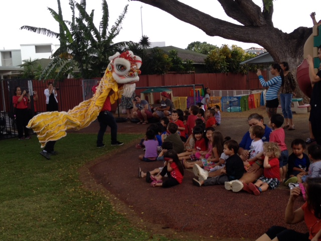 Chinese New Year with the PRESCHOOL CHILDREN
