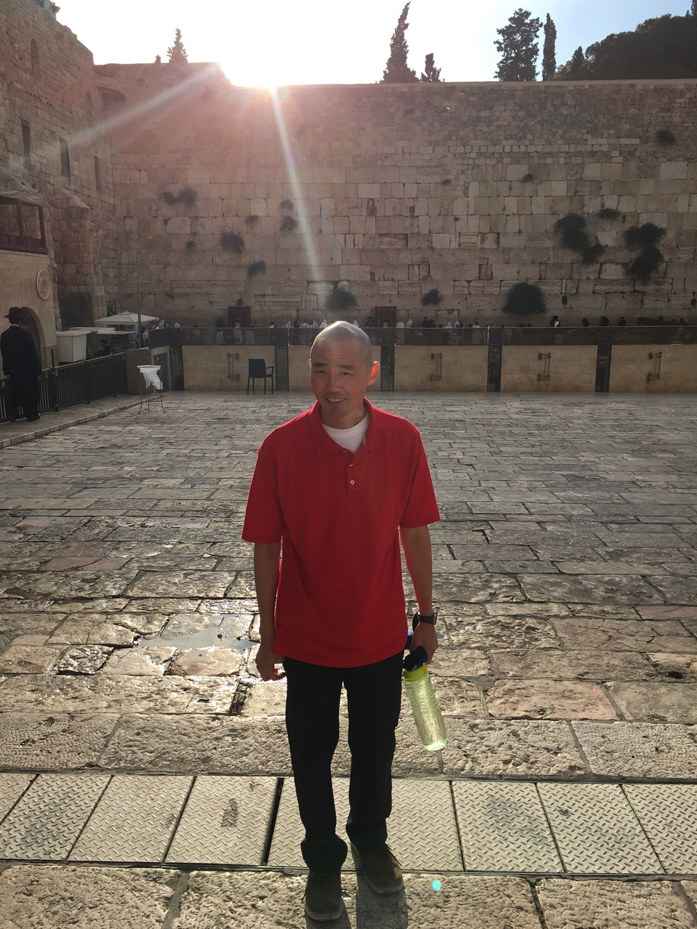 Michael Ida at the Western Wall