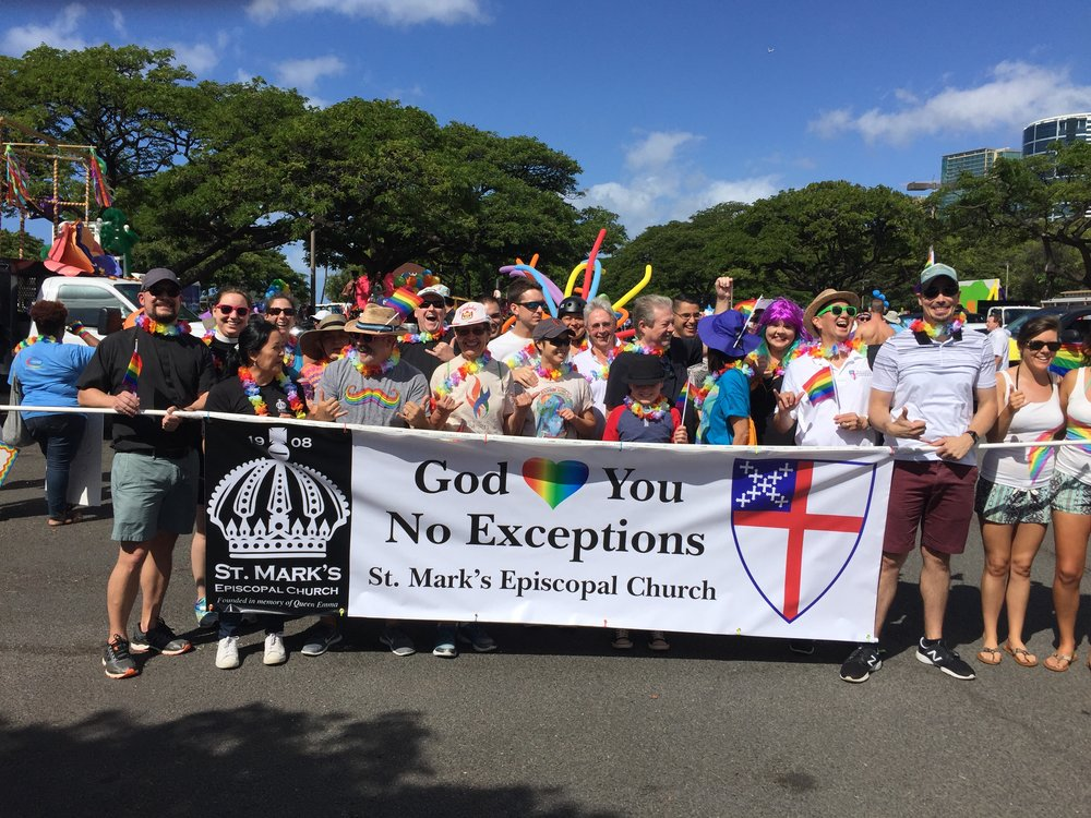 St. Mark's at the Honolulu Pride Parade