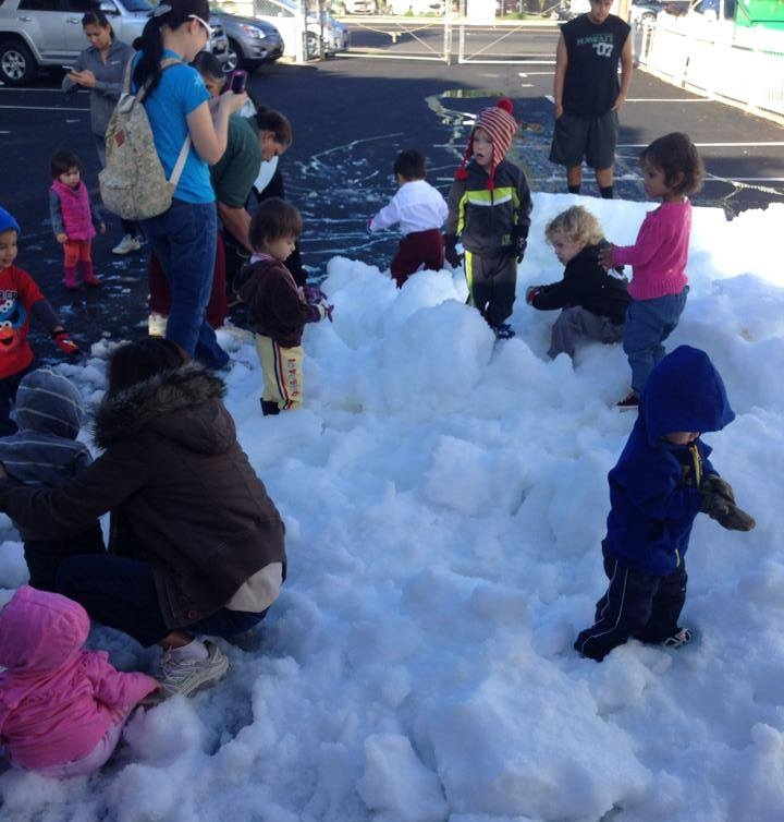 A Snow Day in Sunny Honolulu at the Preschool