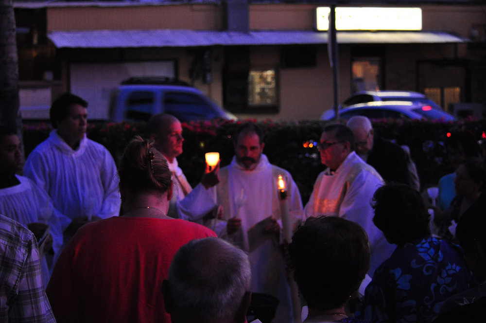 Lighting the Easter Paschal Candle.jpg