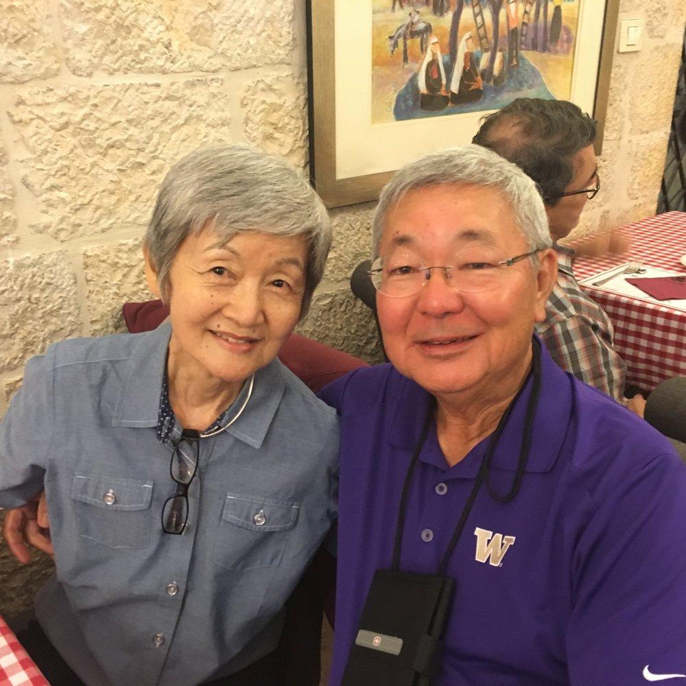 Les and Sherry Uyehara