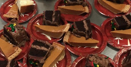 Thanksgiving desserts for the homeless