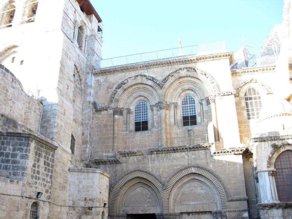 The Church of the Resurrection in Jerusalem's Old City