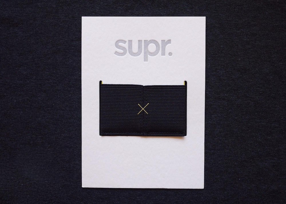 Supr Slim Wallet Packaging
