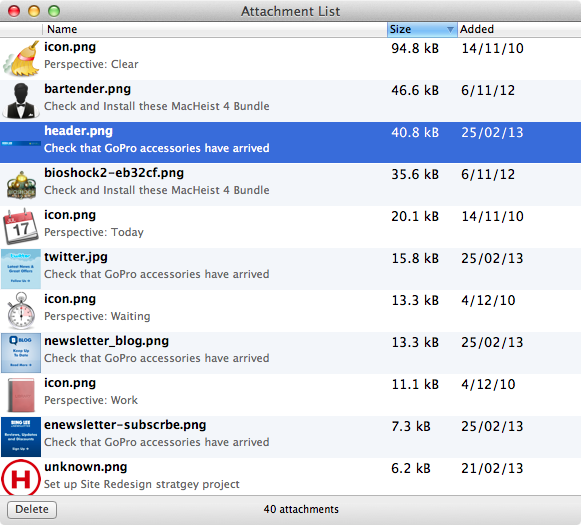 filemaker how to delete attachment