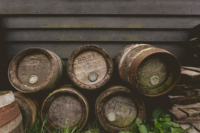 Barrels are cool. These ones are in Holland. . . #travelphotography #barrels #beer #holland #zaanseschans #oldskool