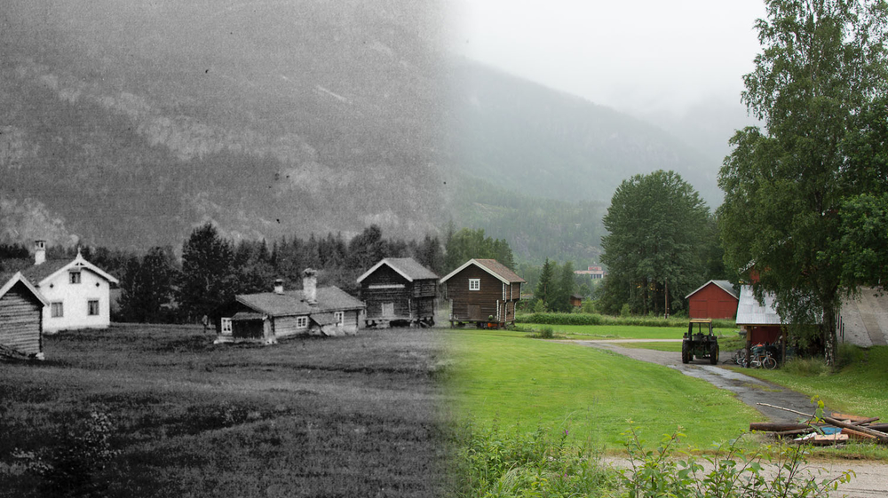 Søre Traaen fra 1900-2012.