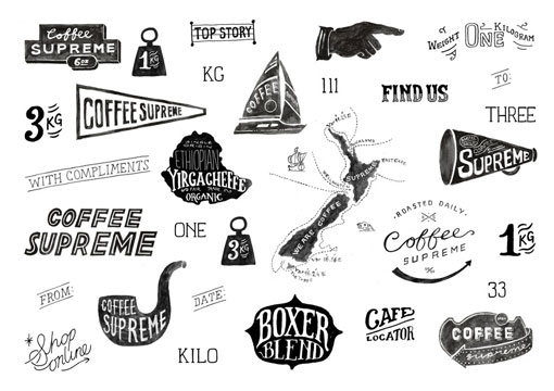 Coffee Supreme Re-Brand Concepts
