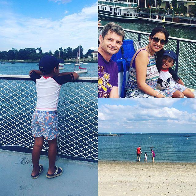 #beachlife #nephew #summervibes #firsttimeonaboat #weekend