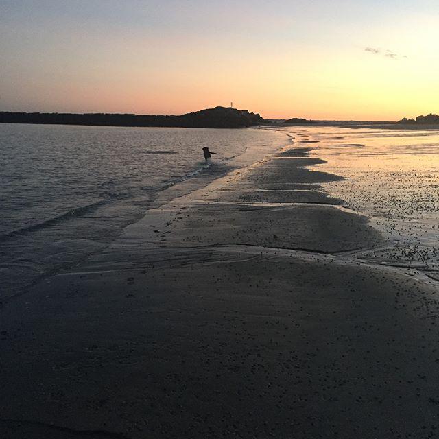 #eveningwalk #ryebeach #beachtoourselves #timetoreflect #simplethings