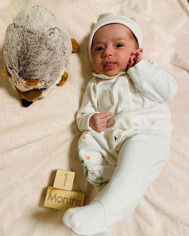 #onemonth #newborn #babygirl #latergram