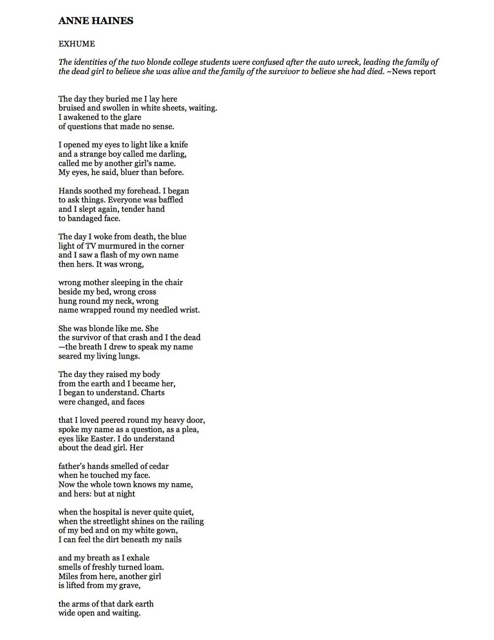 ANNE HAINES Exume poem.jpg