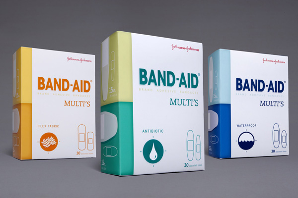 Band-Aids Packaging
