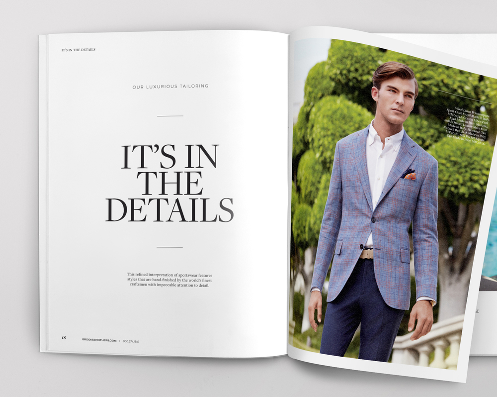 Brooks Brothers Spring 2014 Catalog