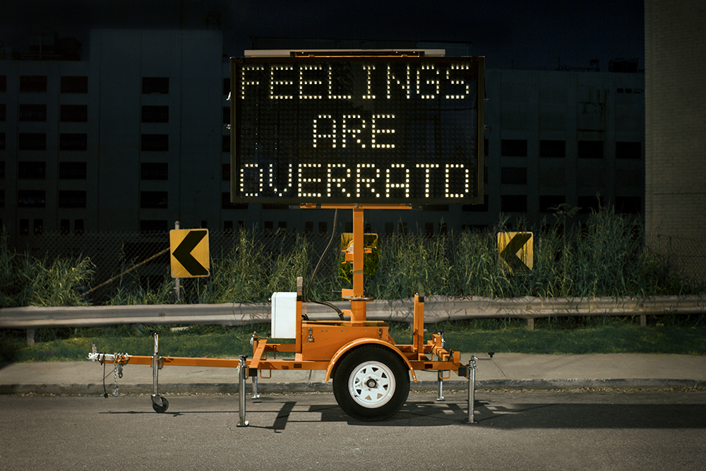 Feelings Are Overrat'd