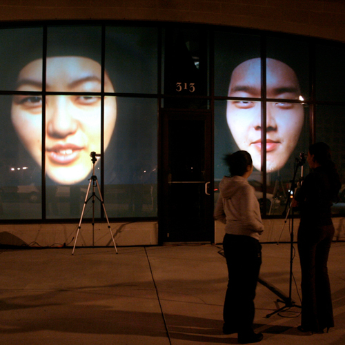 You Sound Funny (When You Smile)  (2009)   Digitally Mediated Live Performance Installation