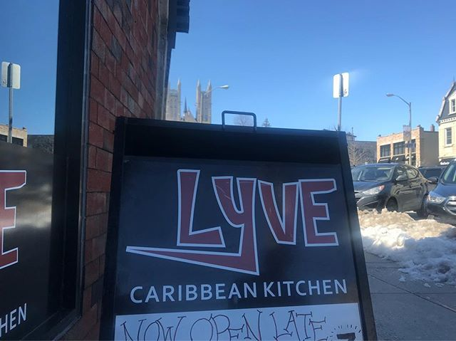 If we can be blunt, now that the sun is lighting up, you should roll into Lyve for a baked power patty, or try the plantain nice and fried. You might have the munchies.  #Guelph #RoyalCity #CaribFusion #Lyve519