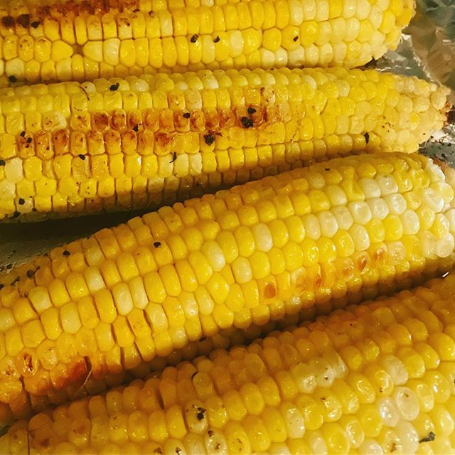 What says summer like some fresh roasted corn on the cob? Not much. Not much. Offering it up with all our meals.. get it till it's gone! #fusion #SummerSummerTime #Lyve519 #Guelph