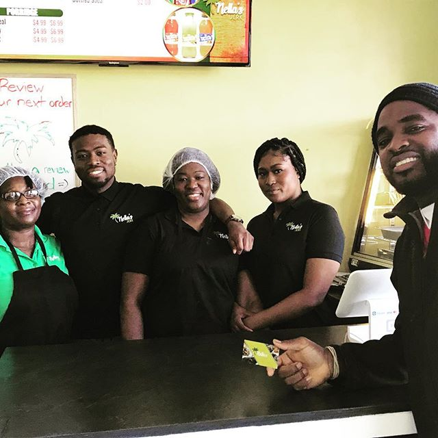 Well Orangeville, You know I had go and see for myself... The spot is #soulyve certified!  Great food ☑️ Lovely owners ☑️ Good customer service☑️ Go and show Nella's Jerk nuff love, welcome them to the town & tell 'em Phil sent you! #1love #chefabouttown #yis
