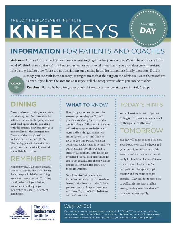 WVMC Knee Newsletter 1