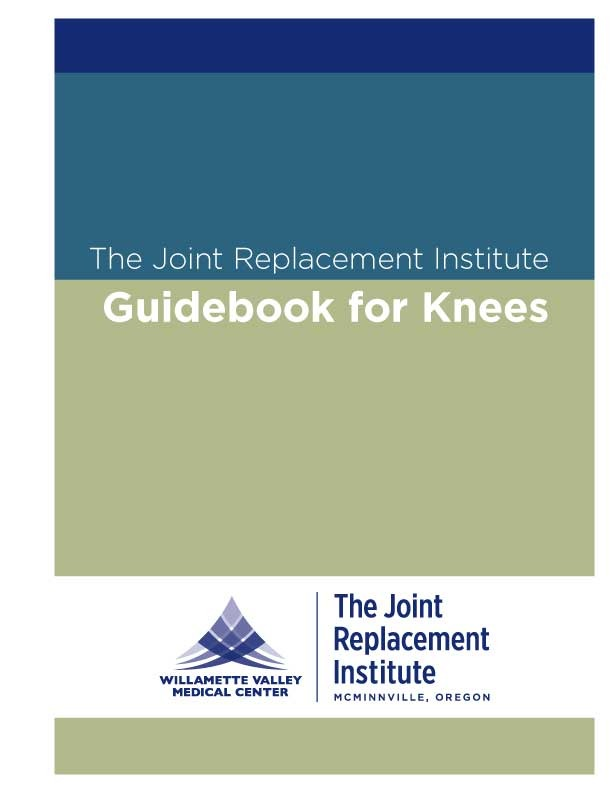WVMC Knee Replacement Guidebook Cover