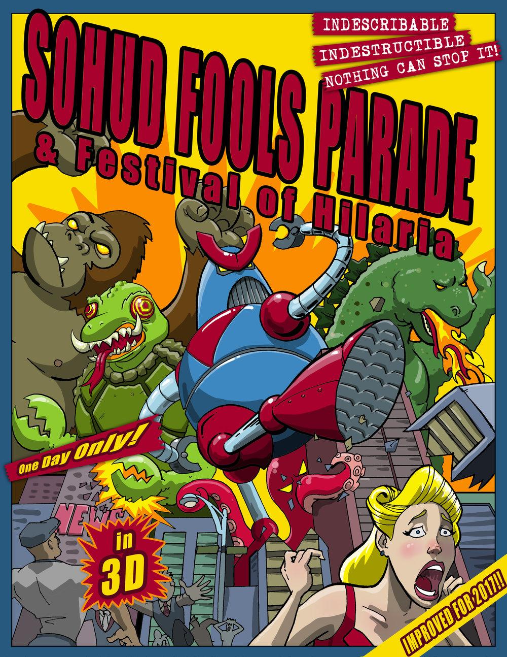 Fools' Parade 2017