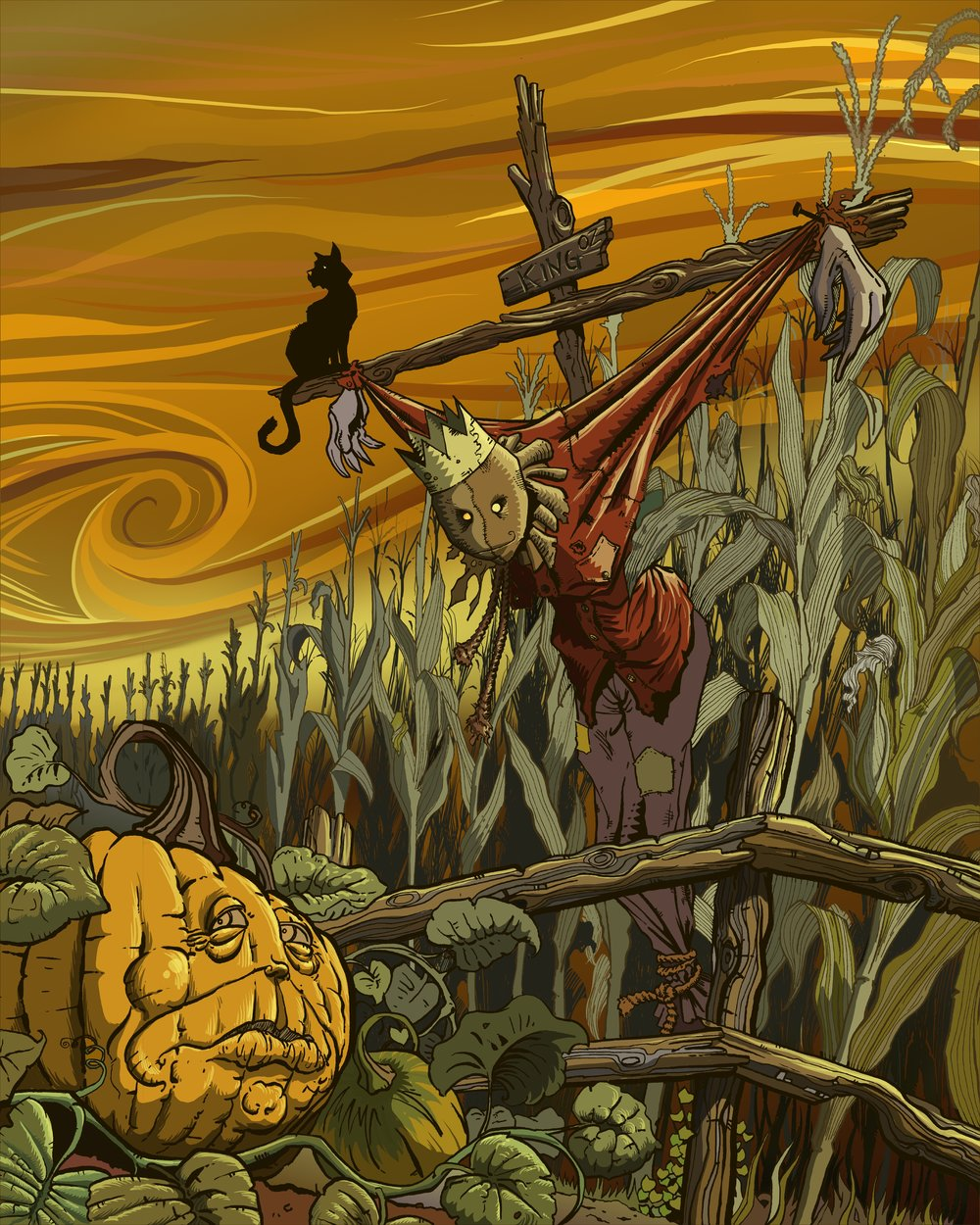 Oz Series:  Scarecrow