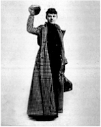 Great short piece on wired about Nellie Bly who in 1889 circumnavigated the globe in 72 days. This she achieved on her own in a time when at a time when women rarely went unaccompanied to a Manhattan restaurant, let alone around the world.   Nellie was also one of the first investigative journalists. She got her first job at the Pittsburgh dispatch after writing an angry rebuttal to a sexist editorial by one of the papers columnists.          Bly left a big footprint wherever she trod. Besides journalism and adventuring, Bly became an industrialist (thanks to marrying a man 40 years her senior and inheriting his company upon the inevitable). She radically improved working conditions for her employees and found time to invent and patent the steel drum, forerunner to the 55-gallon drum still in widespread use.      Link