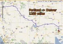 The GreenPrint office is headed to Denver Colorado for the  Earth Works Expo  . We are hiring a large no doubt soft and awful American car and embarking on a 1300 mile road trip, across Oregon, Idaho, Wyoming and finally Colorado.  I will be taking my camera and laptop and try and do some documenting of the trip on the way. It will be fantastic to see some of the biggest open spaces in this huge country. Interesting side note some of the hire car companies wouldn't hire us a car if we drove through Wyoming. It's so big and empty that they would have real issues getting the car back if there were any problems.