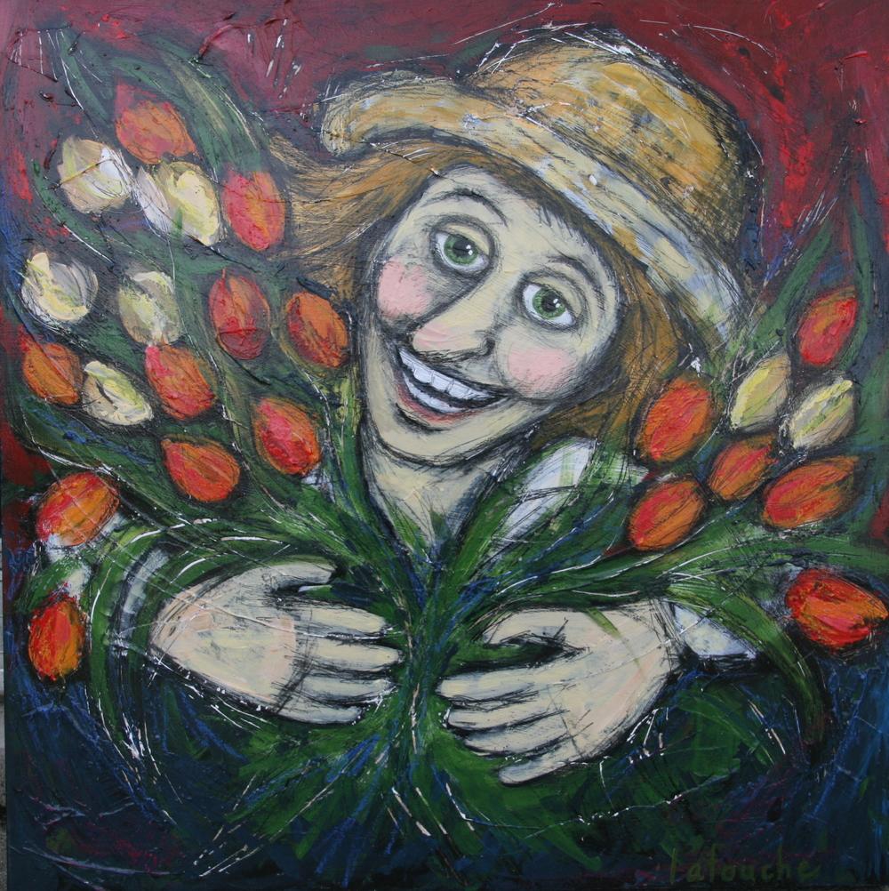 Le jardinier heureux