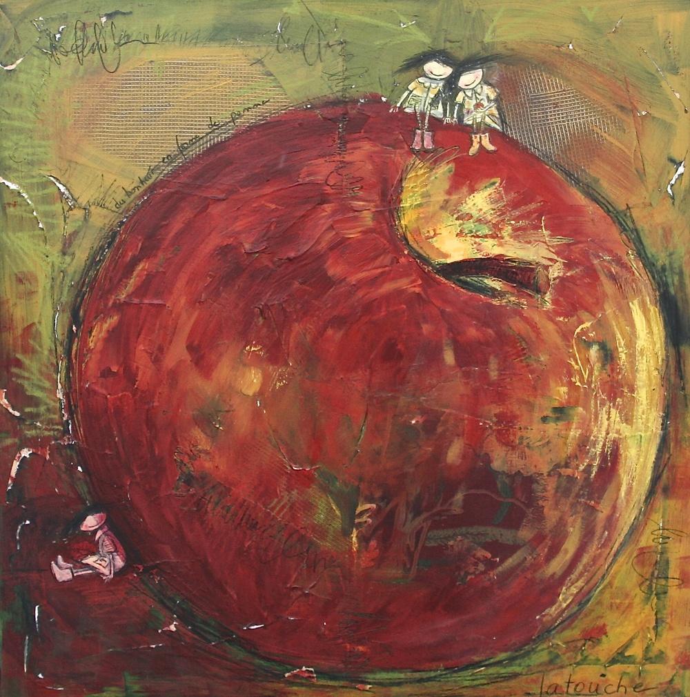 Le bonheur en forme de pomme