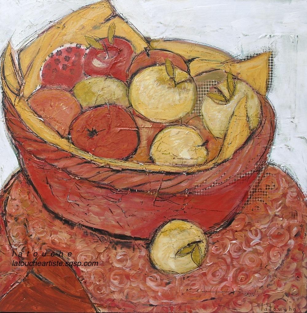 """""""Les pommes du marché"""""""