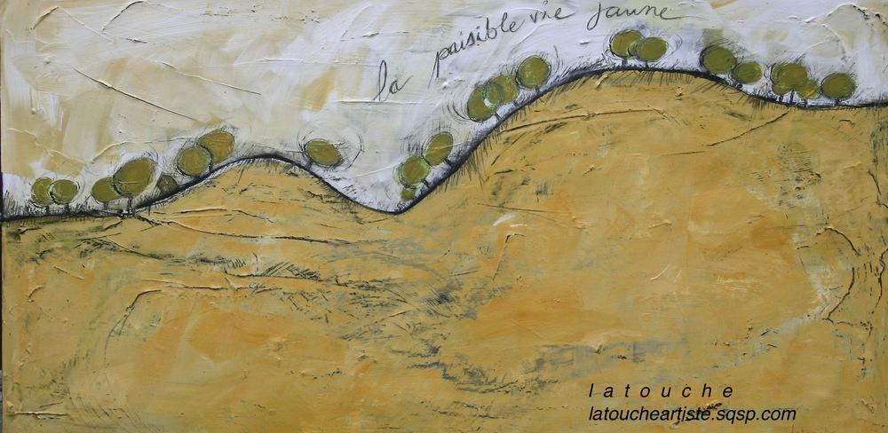 """""""La paisible vie jaune"""""""
