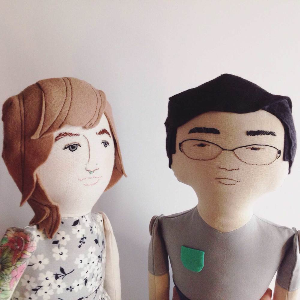 ustom Couple Dolls