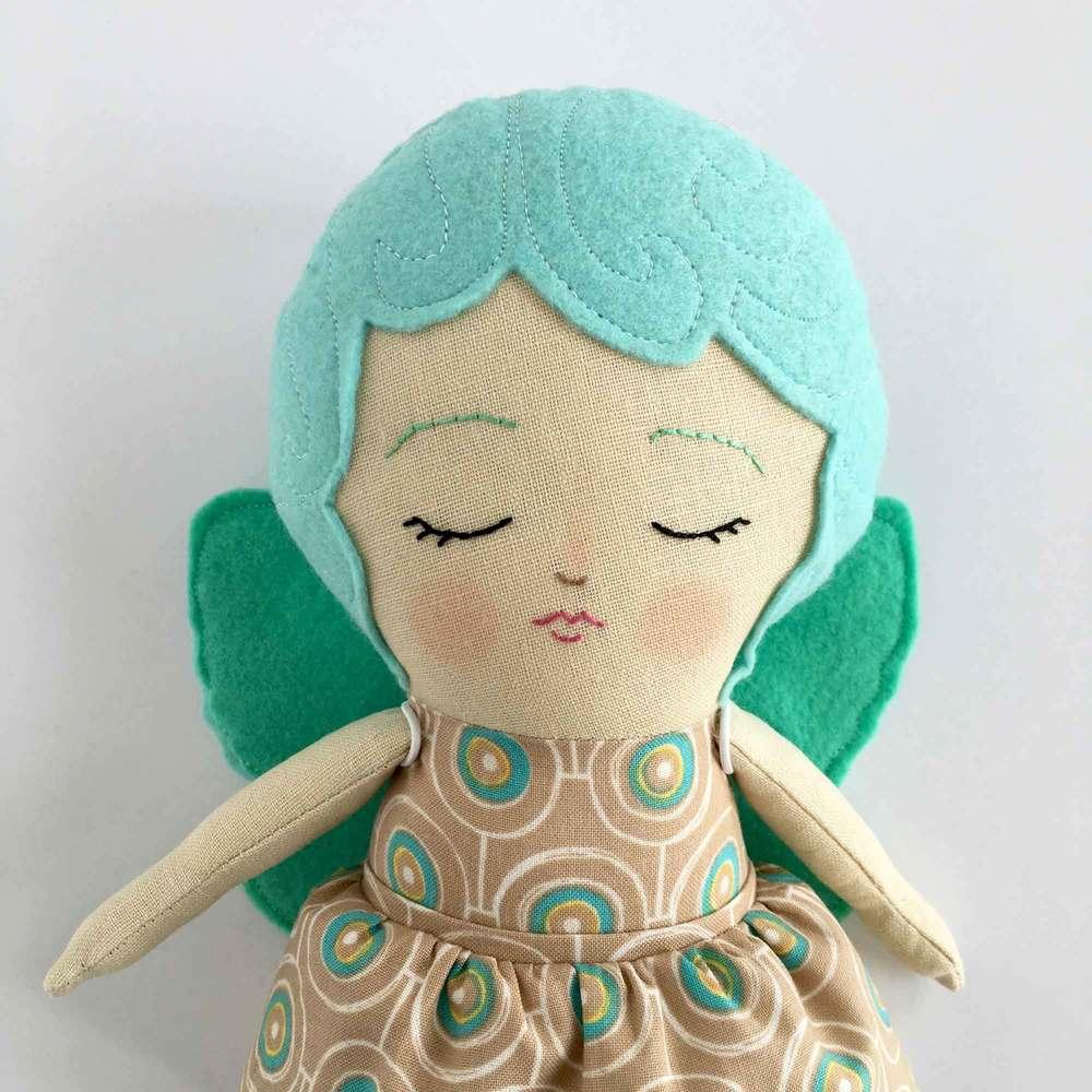 Turquoise Sleeping Fairy