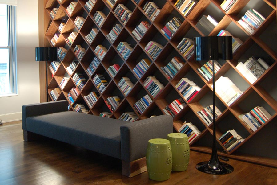 Daybed and Library