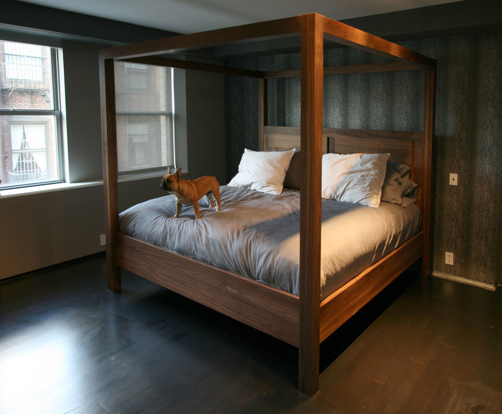 Custom Canopy Bed