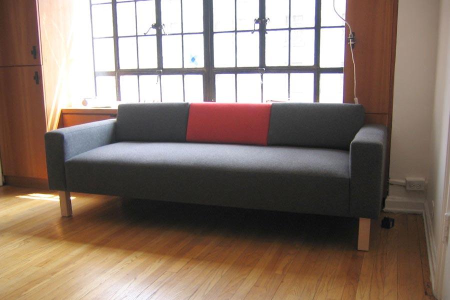Custom Convertible Beam Sofa