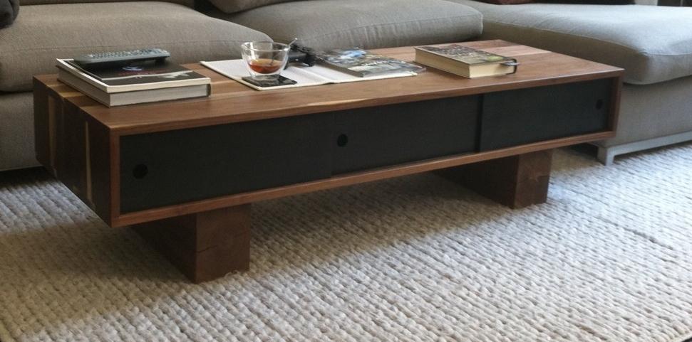 Custom Pawnee Coffee Table