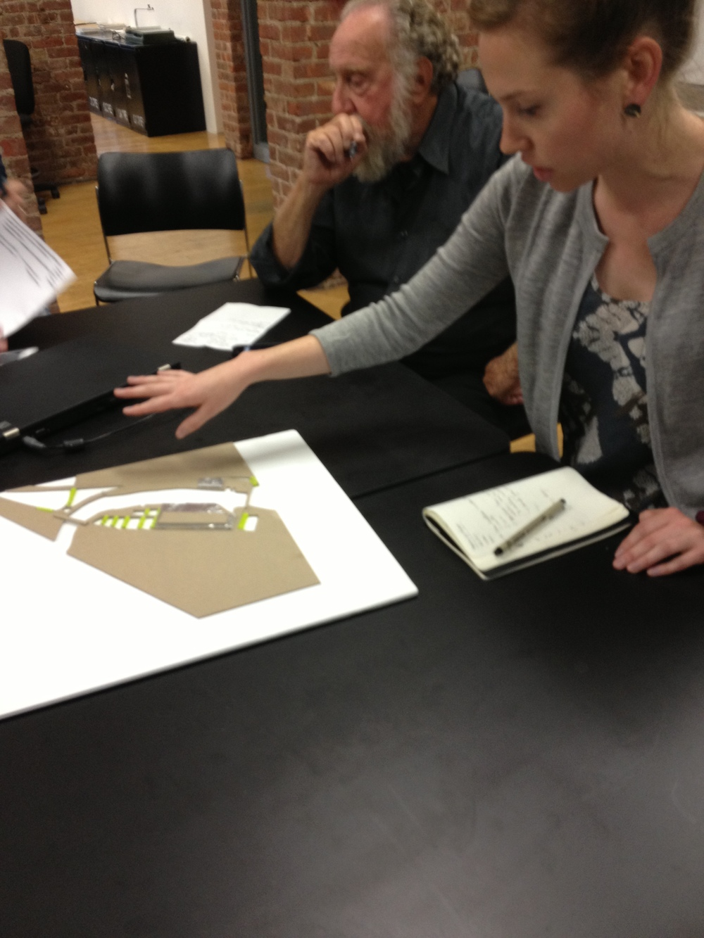 Brooke's model - softening and greening streets