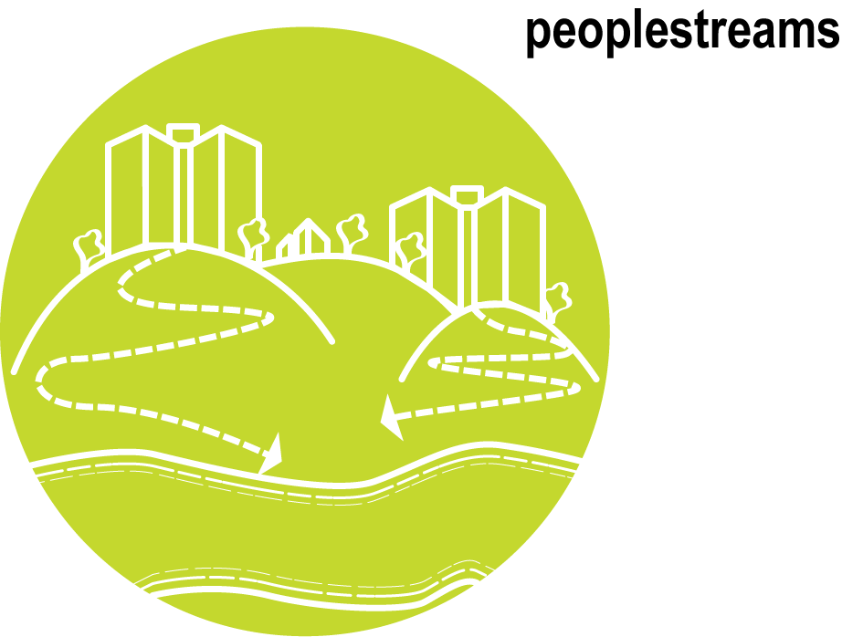 """Peoplestreams"" design concept icon"