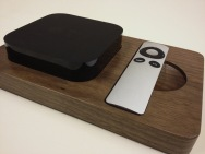 The Walnut bloc for Apple TV