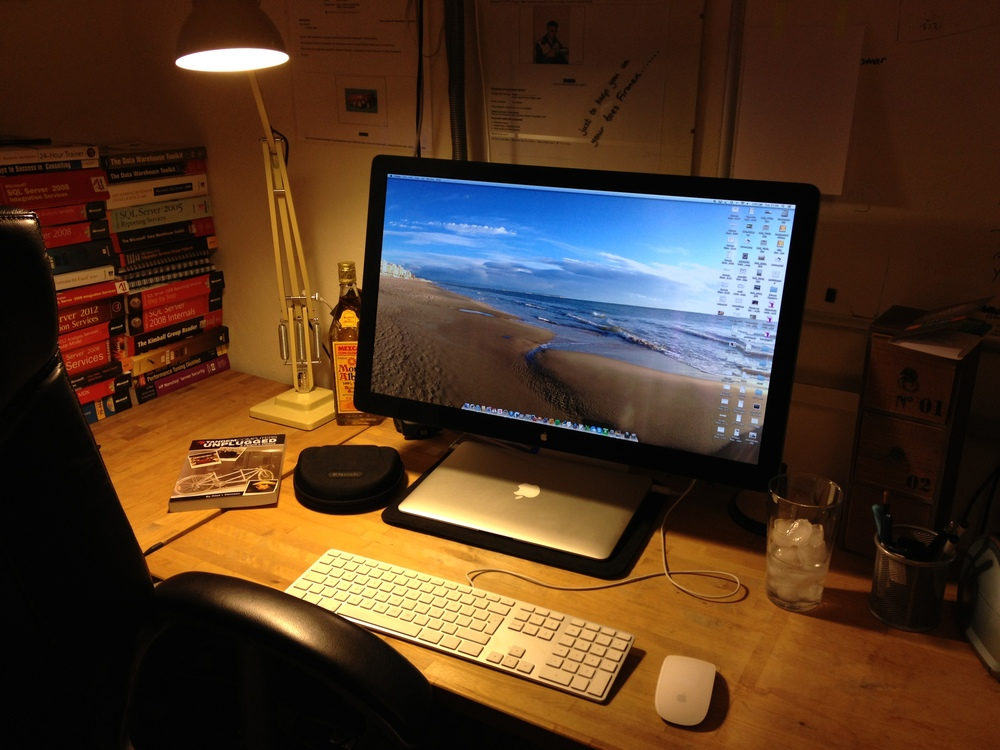 Eric's home office setup