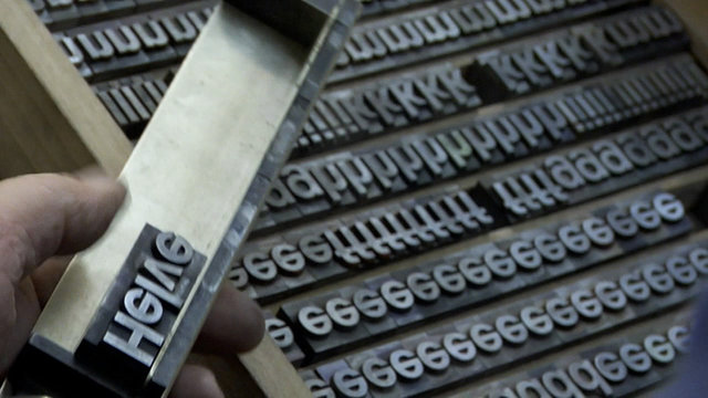 Image from Helvetica documentary