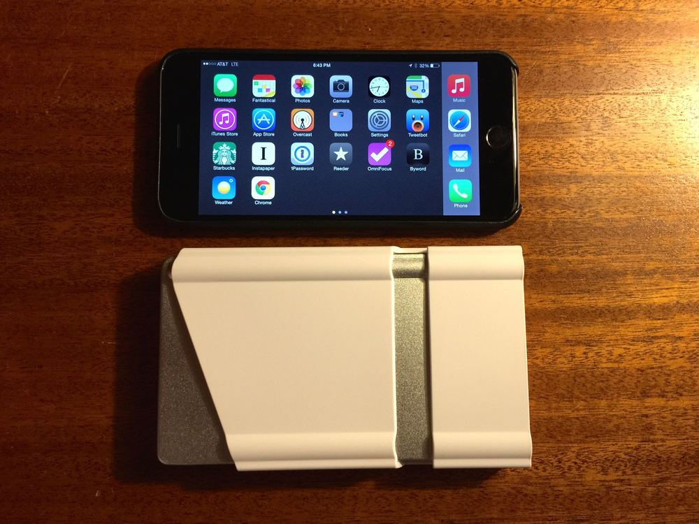 Compared to iPhone 6+