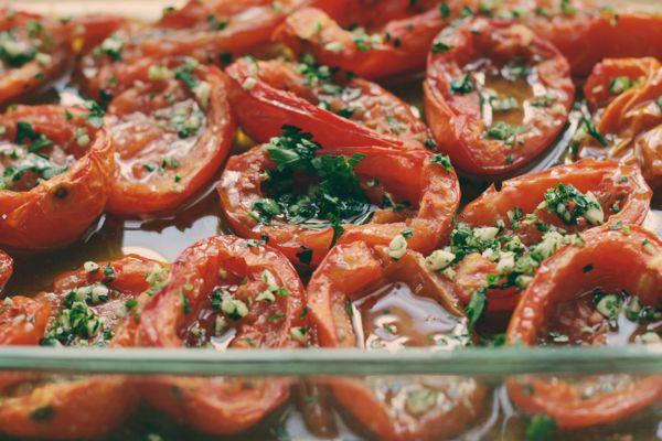 recipe redux: pomodori al forno