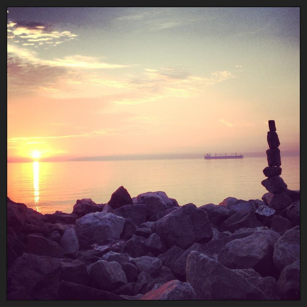 Canal Park sunrise.JPG