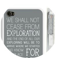 T.S. Eliot iPhone Case